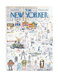 The New Yorker Cover - January 16  1971