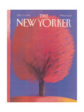 The New Yorker Cover - October 13  1986