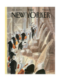 The New Yorker Cover - January 28  1985