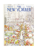 The New Yorker Cover - July 27  1981