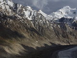 The Drung-Drung Glacier in the Ladakh Region of India