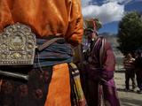Women Walking Near Karsha