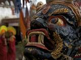 A Masked Dancer at the Karsha Gustor Festival