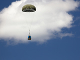 A Parachute Drop During a Search and Rescue (Sar) Mission