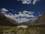 Zanskar Valley on the Road from Kargil to Zanska