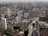 An Aerial View of Shanghai's Urban Sprawl