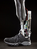 Motorized Springs in a Powered Ankle Push Off Like a Real Leg