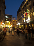 Street Scene in Old Montreal  Canada