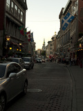 Street Scene in Old Montreal  Canada