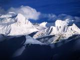 The Chugach Mountain Range in Alaska