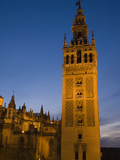 The Giralda Tower and Cathedral De Sevilla at Dusk