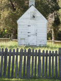 Wood Building and Fence at Historic George Washington Birthplace