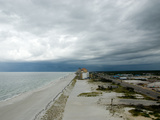A Storm Rolls in over Gulf Shores  Alabama