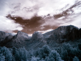 Kolob Canyon Captured in the Infrared Light Spectrum