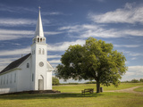 The Restored Metis Church St Antoine-De-Padoue (1883-84) at Batoche