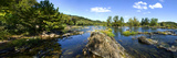 Panoramic of Potomac River Above Great Falls on Virginia Side of River