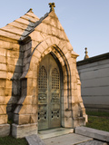 Morning Light on Tombs in the Oakland Cemetery  Atlanta