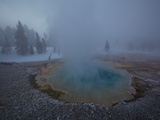 Steam Rising from Upper Geyser Basin