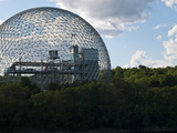 The Expo 1967 Geodesic Dome  Now Called the Biosphere Is in Canada