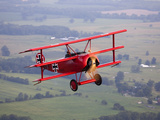 A Replica Fokker Dr I  a Red Triplane as Flown by the Red Baron