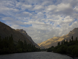 The Suru River  a Tributary of the Indus River