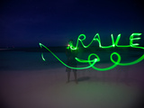Getting Creative with Long Exposures and Glowsticks