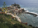 The Village of Vernazaa on Italy's Cinque Terre