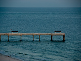 A Pier in Gulf Shores  Alabama