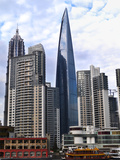World Financial Center in Pudong District in Shanghai  China