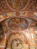 Murals on the Walls of a Church Carved into the Cliffs