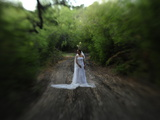 A Bride in an Oak Forest