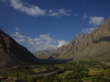 The Suru Valley Between Kargil and Zanska