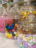 Jars of Candy at Belly General Store  Atlanta  Georgia