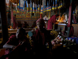 Monks on Day Two of the Karsha Gustor Festival