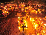 Day of the Dead Celebration in the Town Cemetery