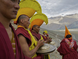 Monks on Day 2 of the Karsha Gustor Festival