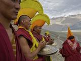 Monks on Day 2 of the Karsha Gustor Festival