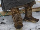 A Komi Reindeer Herder Wears Reindeer Boots and a Malitsa Robe