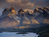Horns of Paine Mountains  Torres Del Paine National Park  Patagonia  Chile