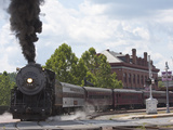 Western Maryland Scenic Railraod 2-8-0 No734 Departs the Depot