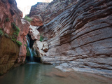 Elves Chasm  in the Grand Canyon  Accessible by Rafting and a Hike