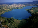 An Aerial View of Lake Banyoles