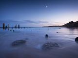 Sunrise over Willunga Beach  with Old Jetty in Foreground