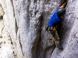 A Climber Tries a 512 Hand Crack in a Place Called 'The Vatican'
