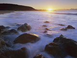 Rocky Seashore at Sunrise  Mimosa Rocks Nat&#39;l Park  Australia