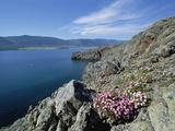 Rocky Shoreline  Barakchin Island  Lake Baikal  Russia