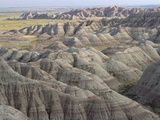 Eroded Landscape  Badlands National Park  South Dakota
