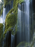 Waterfall  Bavaria  Germany