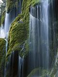 Waterfall  Bavaria  Germany