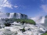Rainbow at Iguacu Falls  Brazil